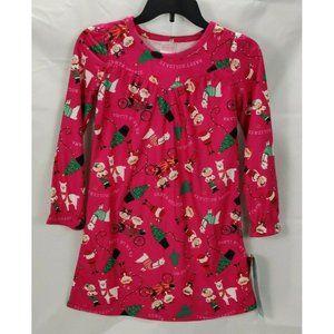 Wondershop Girls Medium 7-8 Nightgown Christmas